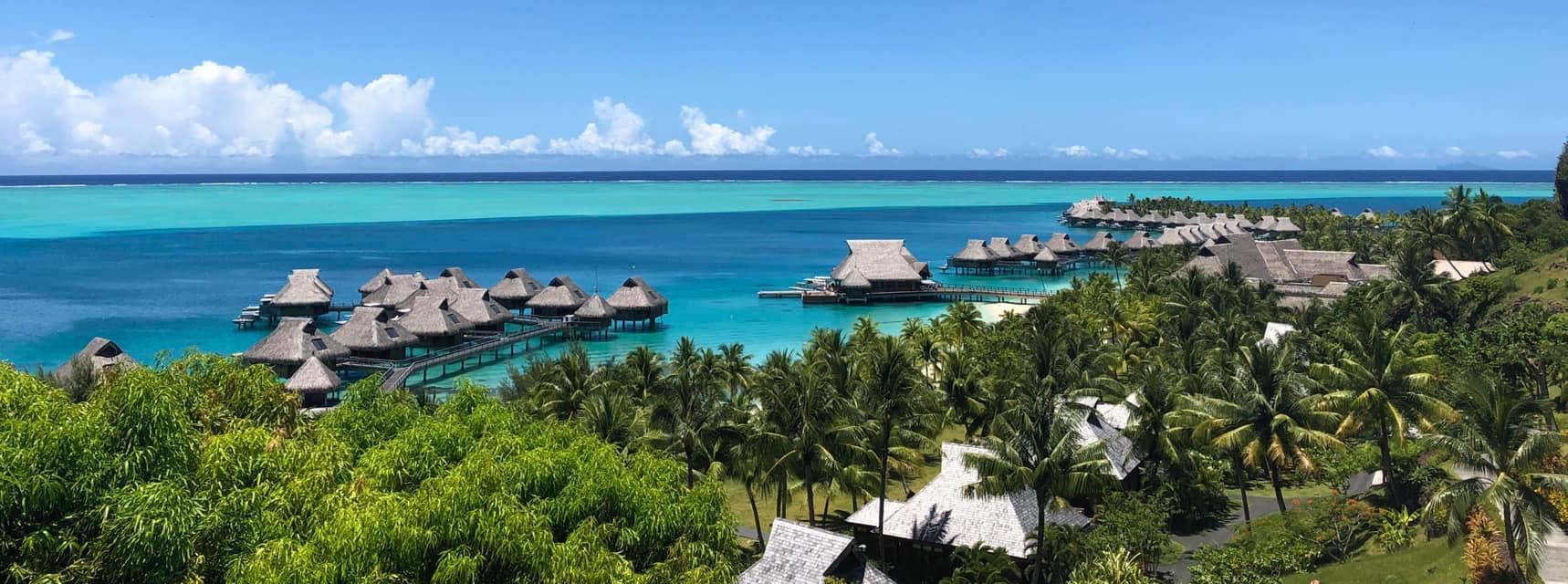 over water bungalows conrad resort Bora Bora